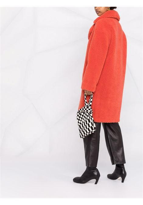 Cappotto di shearling sintetico Camille in corallo -donna STAND STUDIO | 611229040024110