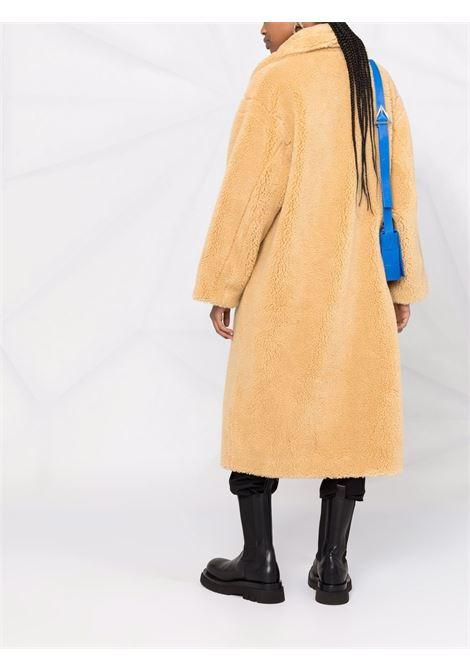 Cappotto di shearling sintetico Maria in giallo miele -donna STAND STUDIO | 611229040096200