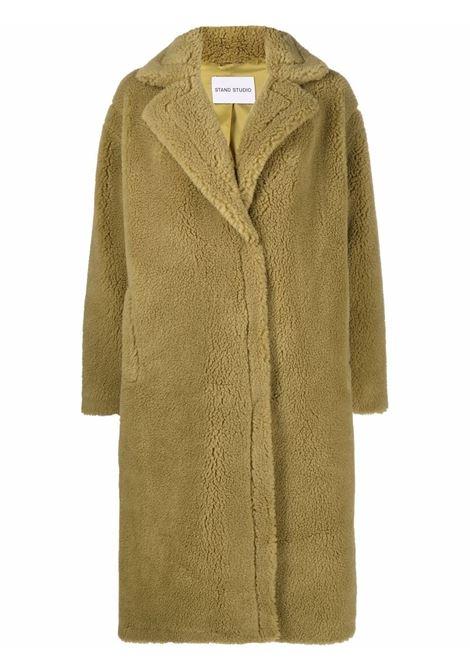 Cappotto di shearling sintetico Maria in verde militare - donna STAND STUDIO | 61122904057900
