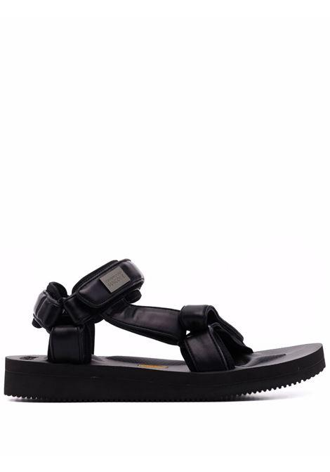 Touch-strap leather sandals - men SUICOKE X TOM WOOD | OG022V2TWBLK
