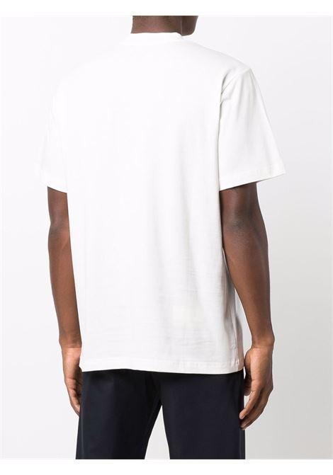 T-shirt con stampa in bianco - uomo SUNNEI | SNW1XH01APJE130005