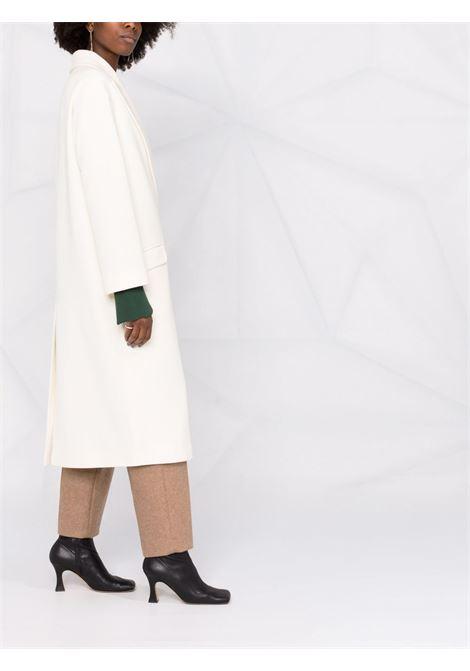 Cappotto doppiopetto in bianco - donna TAGLIATORE | CARLYNA50017X1239