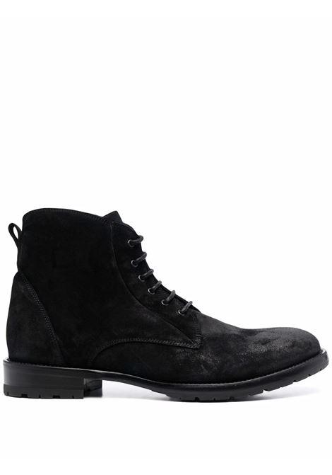 Henry suede ankle-boots in black - men  TAGLIATORE   HENRYORI21FLNERO
