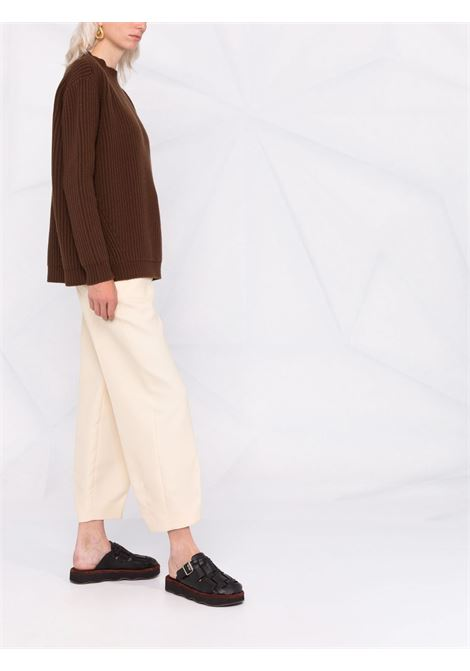 Knit jumper brown- women THE ANDAMANE | 2034WVWS2163