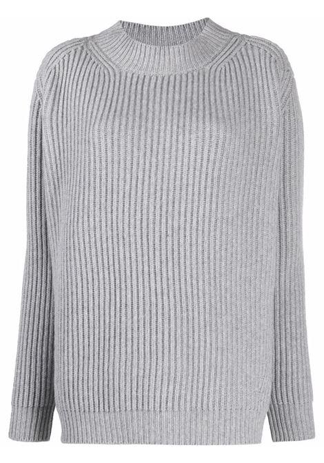 Knit jumper gray- women THE ANDAMANE | 2034WVWS621