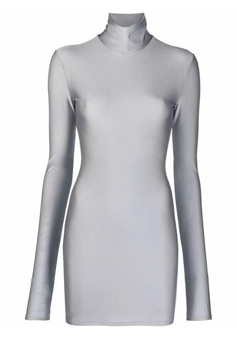 Hilda mini dress in grey - women  THE ANDAMANE | T100111ATJP062925