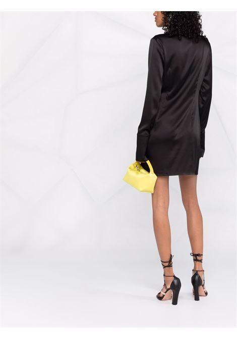 Abito al ginocchio con maniche lunghe in nero - donna THE ANDAMANE   T100129BTNS035999