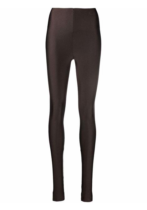 Leggings slim marrone- donna THE ANDAMANE   T100411ATJP062600