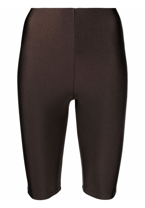 Cyclist shorts brown- women THE ANDAMANE | T100413ATJP062600