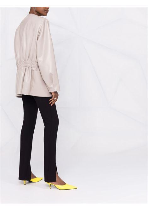Collarless jacket light beige- women THE ANDAMANE | T102008ATNP152180