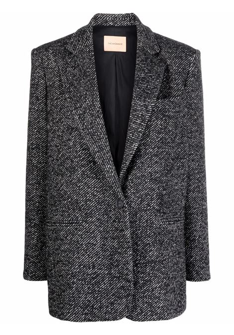 Single breasted blazer black and white- women THE ANDAMANE | T103010BTNW024833