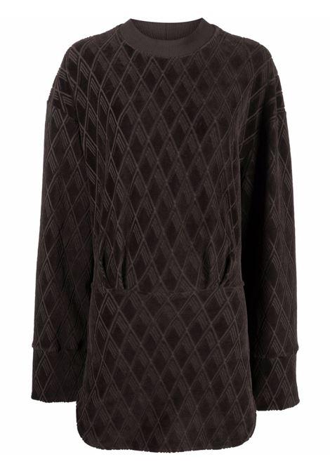 Geometric-print velvet dress women  THE ATTICO | Dresses | 213WCA64C038207