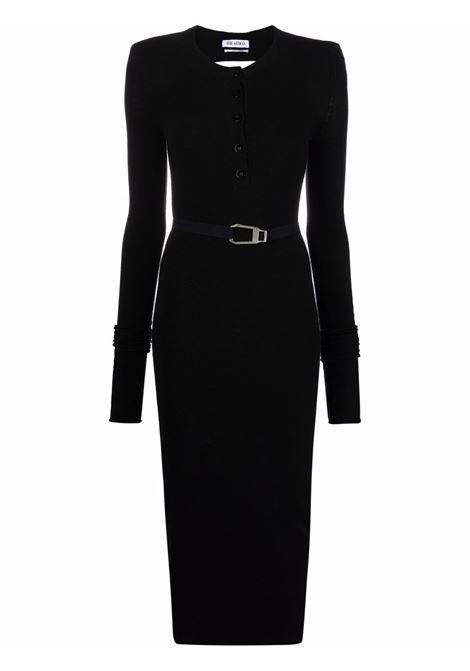 Long-sleeved backless dress black - women THE ATTICO | Dresses | 213WCK21W029100