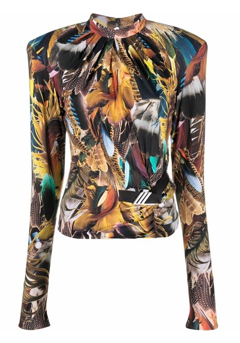 Feather-print top women  THE ATTICO | Top | 213WCT55P056021