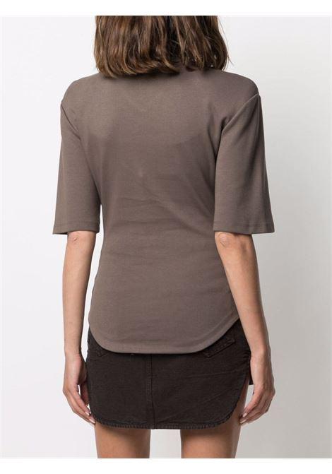 T-shirt con scollo a V donna THE ATTICO | 213WCT61C040215