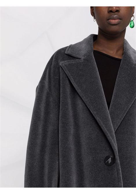 Oversized single-breasted coat in grey - women  THE ATTICO   214WCC21C035208