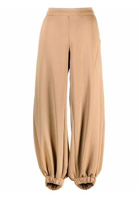 Pantaloni sportivi Carter a gamba ampia in marrone - donna THE ATTICO | 214WCP33J014046