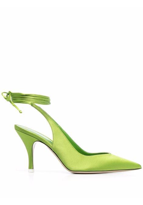 Decollete Venus con cinturino alla caviglia in verde - donna THE ATTICO | 214WS107V015210