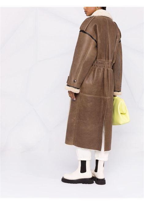 Cappotto midi marrone- donna THE MANNEI | W21TMJORDANBRWN