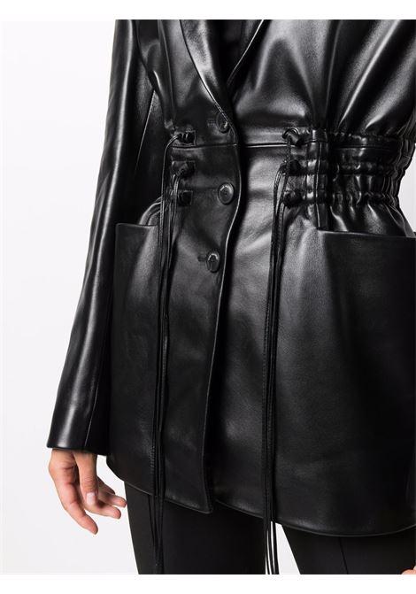 Giacca con spalline nero- donna THE MANNEI | W21TMKHAZALIBLK