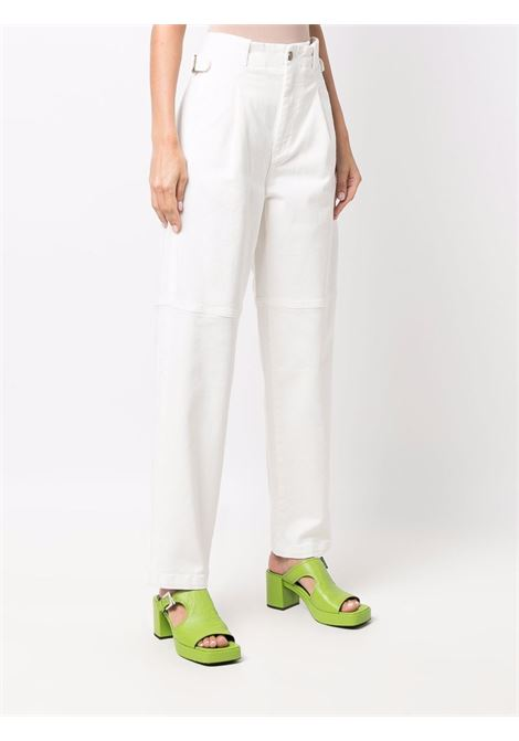 Pantaloni dritti bianco- donna THE MANNEI | W21TMSHOBAKWHTJNS
