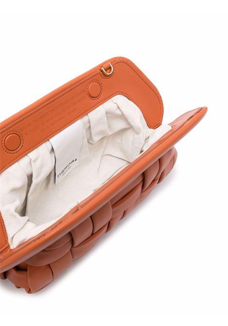 Brick brown bios crossbody bag - women  THEMOIRè | TMPW21BIN48BRCK