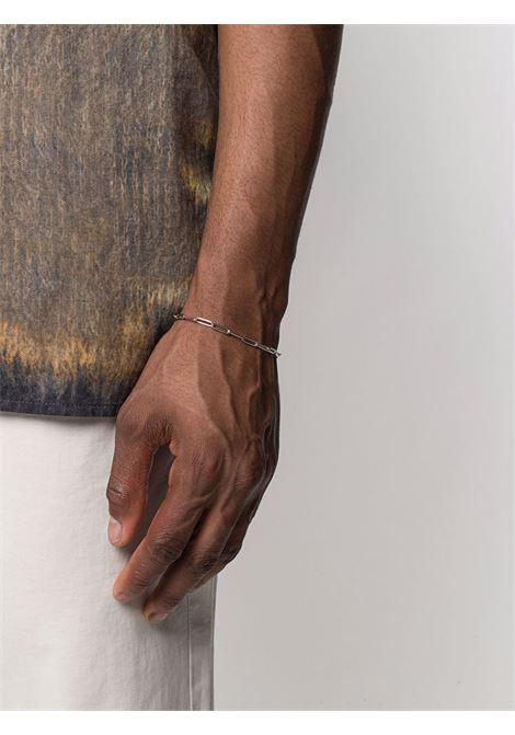 Box bracelet in sterling silver - men TOM WOOD | B01051NA01925