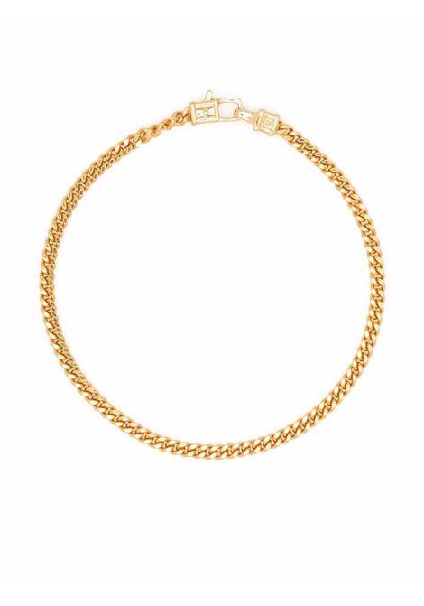 Curb M bracelet gold-plated in gold - men TOM WOOD | B13029CBM01S9259K