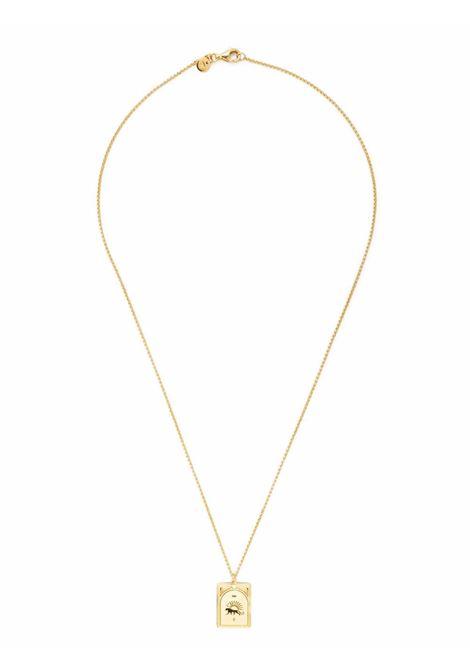 Panther pendant necklace in gold -  men TOM WOOD | NPST15NA01S9259K