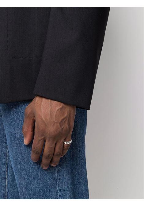 Chain Slim Spinel sterling silver ring - men TOM WOOD | R465ABSP01S925