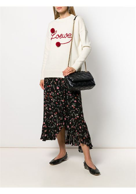 Black fleming quilted shoulder bag - women TORY BURCH | 56716001
