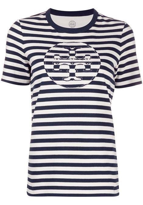 T-shirt a righe donna TORY BURCH | 63871124