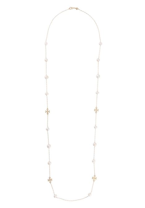 Pearl embellished necklace women  TORY BURCH | Necklaces | 65180709