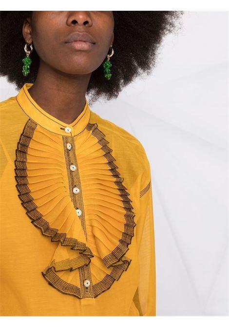 Camicia a maniche lunghe in giallo - donna TORY BURCH | 84306730
