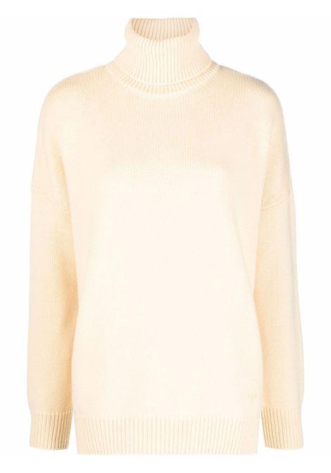 Maglione a collo alto in giallo pastello - donna TORY BURCH | 84310731