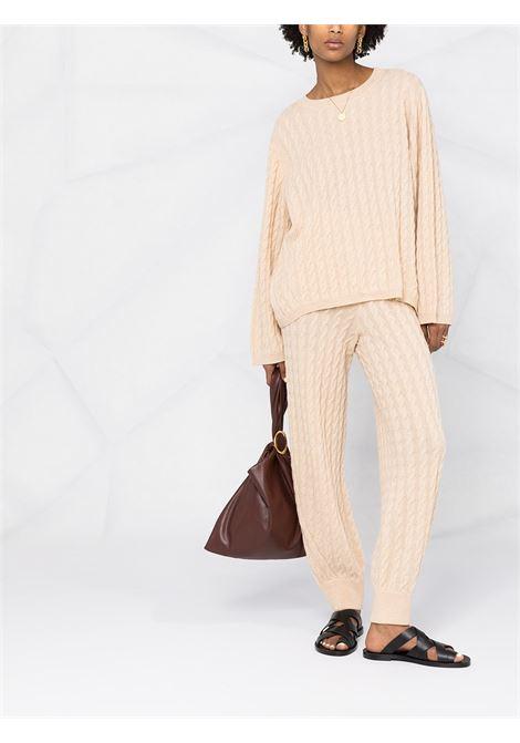 Ribbed knit jumper beige- women TOTEME | 212569751110