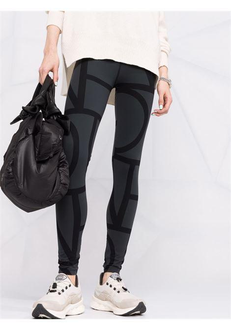 Monogram print leggings women TOTEME | 213248777925