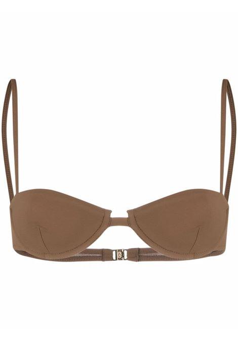 Brown bikini top  - women TOTEME | 213881795850