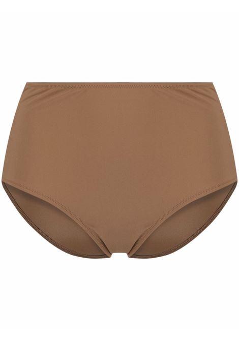 Brown high-waisted bikini bottoms - women TOTEME | 213889795850