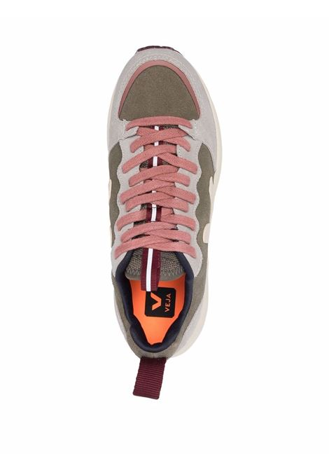 Venturi runner sneakers in khaki and grey - men VEJA   VT0302350AKHKSBL