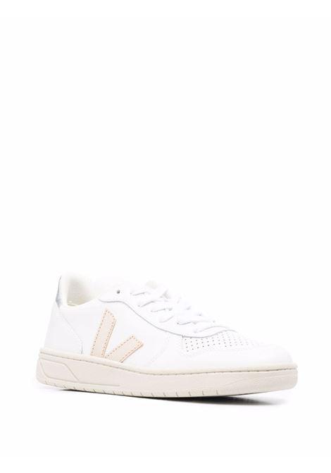 Sneakers V-10 in bianco - donna VEJA | VX022605AWHTSLVR