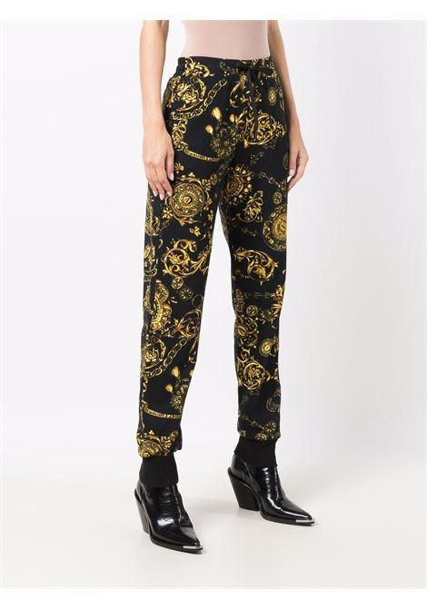 Pantaloni sportivi Regalia Baroque in nero - donna VERSACE JEANS COUTURE | 71HAA310FS002G89