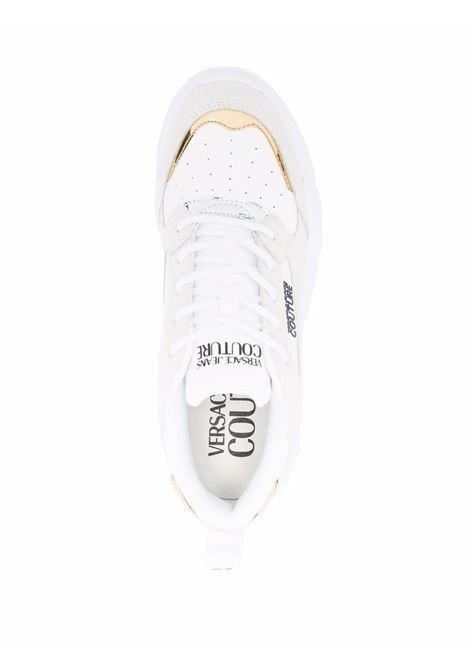 White Speedtrack low-top sneakers - women  VERSACE JEANS COUTURE   71VA3SC2ZP002003