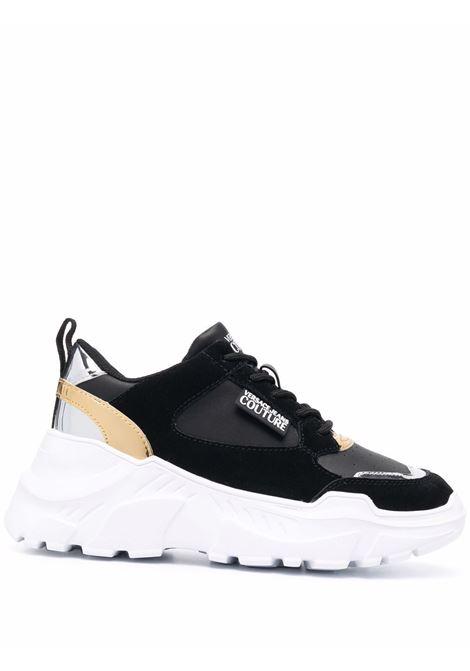 Black Speedtrack low-top sneakers - women  VERSACE JEANS COUTURE   71VA3SC2ZP002899