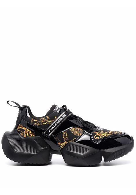 Black Gravity low-top sneakers - women  VERSACE JEANS COUTURE   71VA3SU7ZS037G89