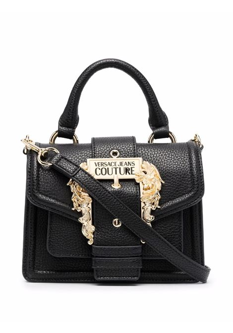 Black baroque-buckle tote bag - women  VERSACE JEANS COUTURE | 71VA4BF371578899