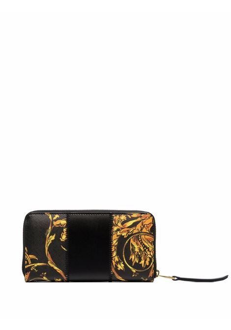 Black Barocco-print wallet - women  VERSACE JEANS COUTURE   71VA5P41ZS082G89