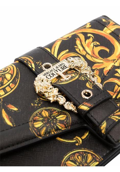 Borsa a tracolla barocco in nero - donna VERSACE JEANS COUTURE | 71VA5PF671880G89