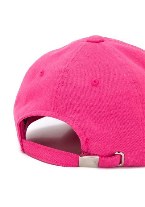 Cappello da baseball con ricamo in rosa - Uomo WE11DONE | WDAH320725PK