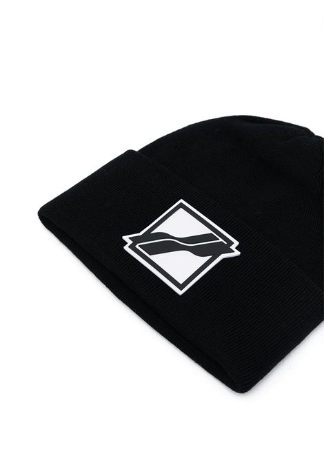 Cappello con logo in nero - uomo WE11DONE | WDKH321663BK